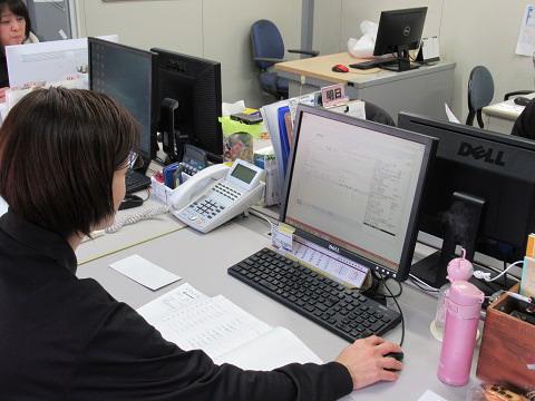 事務処理の画像