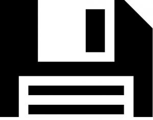 フロッピーディスクの画像